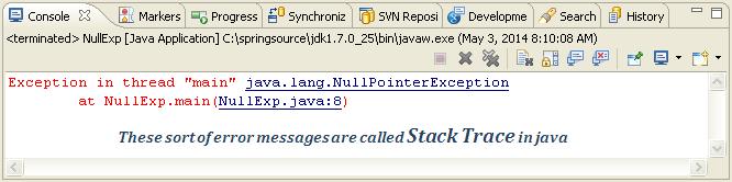 Java Nullpointerexception